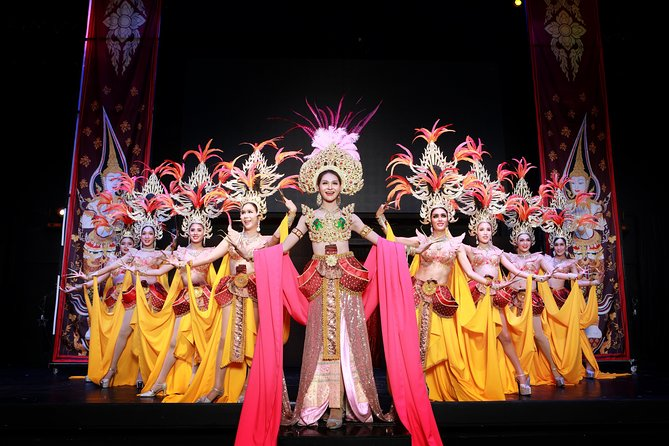 Skip the Line: Siam Dragon Cabaret Show -Ticket Only