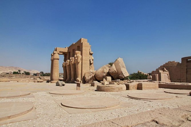 Ramesseum Temple and Carter House