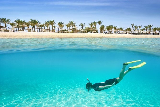 Full-Day Hurghada Orange Bay Private Tour by Boat with Lunch