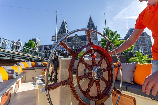 Amsterdam city cruise - Departure Rijksmuseum