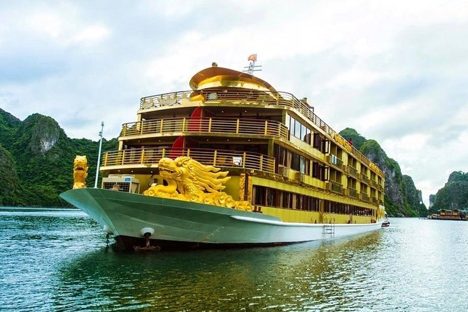 Golden 9999 Cruise Halong Bay 2 Days 1 Night