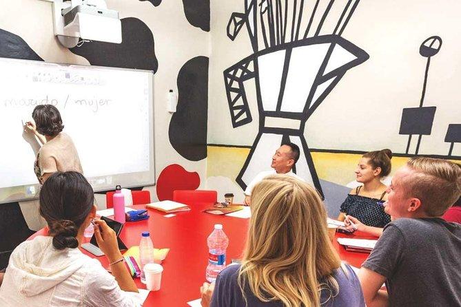 1 week intensive Spanish course + conversation workshop