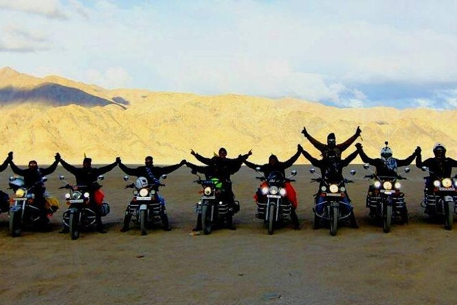 7 Days Guided Motorbike Tour from Leh including Siachen Base Camp
