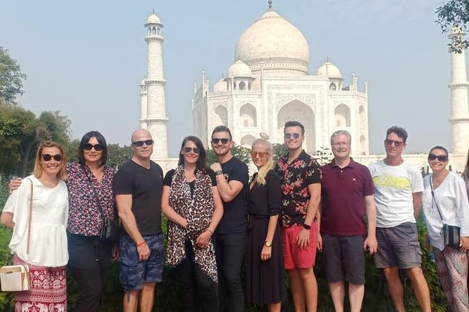 Same Day TajMahal Sun Rise Day Tour From Delhi By Private Car