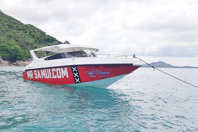 Private speedboat to Ang Tong Marine Park by Mr Samui
