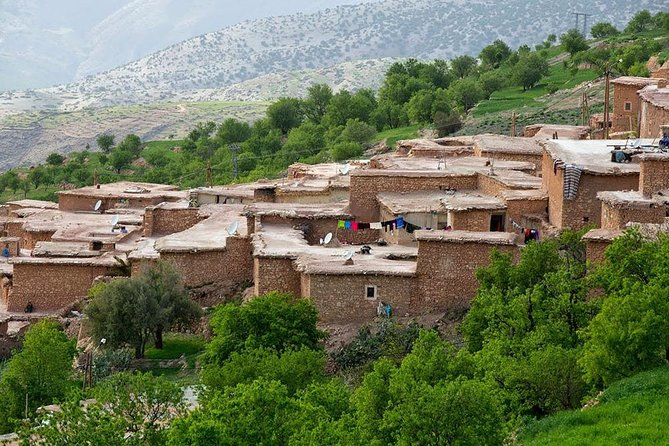 The Colorful valley and Berber villages in Atlas Trek 4 days from Marrakech