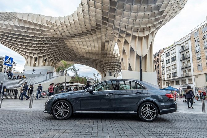 Roundtrip transfer in Sedan from Seville to Ronda