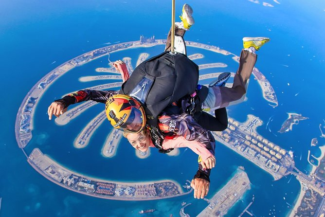 Sky Dive Dubai at Palm Jumeirah