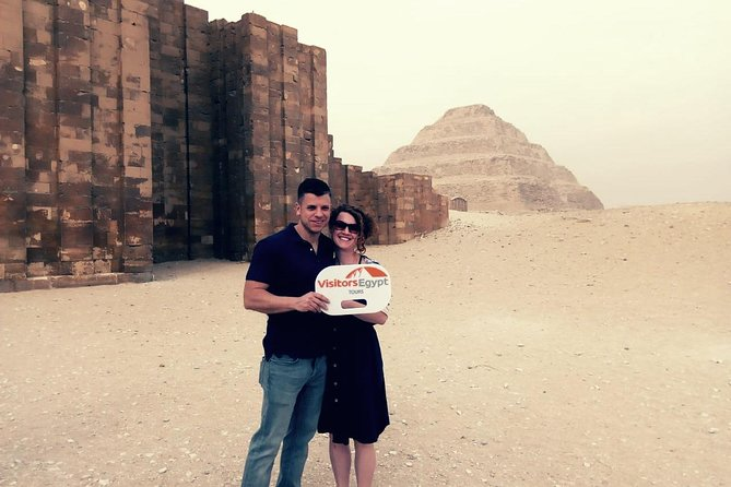 Day Tour at The Pyramids, Sakkara, Dahshur photo 11