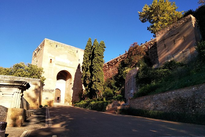 Walk outside the Alhambra