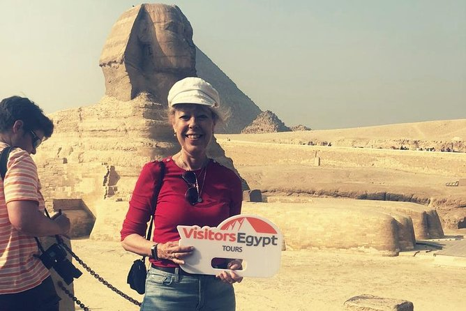 Day tour to Giza Pyramids & Sphinx photo 1