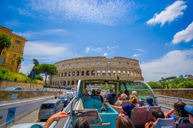 Rome Sightseeing Hop-on Hop-off Bus and Colosseum Tour | Skip-the-line tickets