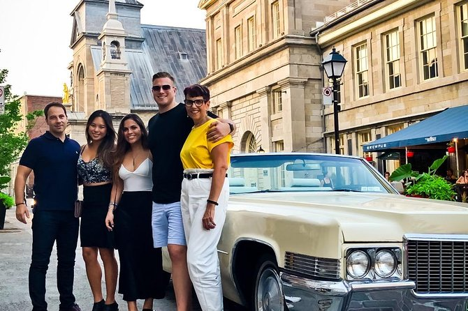 1 Hour Tour of Old-Montreal in Vintage Convertible Cadillac