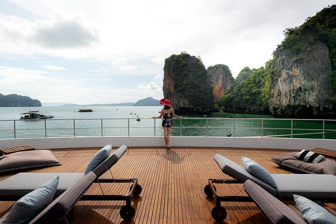 James Bond Island Trip on Luxury Boat with Meals and Canoeing