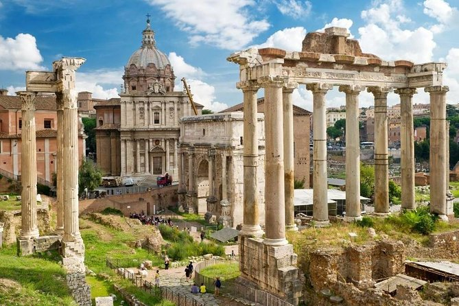 Rome city highlights from Civitavecchia Port