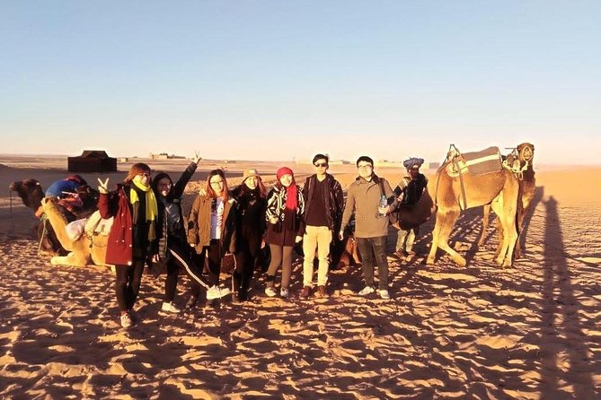 Private 3-day 2-night desert tour from Fez Merzouga ouarzazat Marrakech