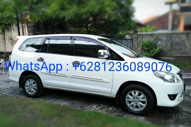 Candidasa Private Car with English Speaking Driver