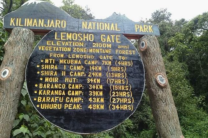 Mount Kilimanjaro 6 Days Climbing Tour through Marangu