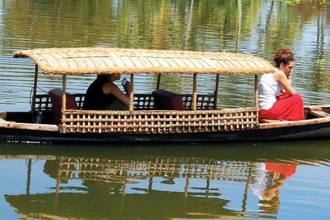 CANOEING- the taditional kerala canoe -with boatman take you through the village