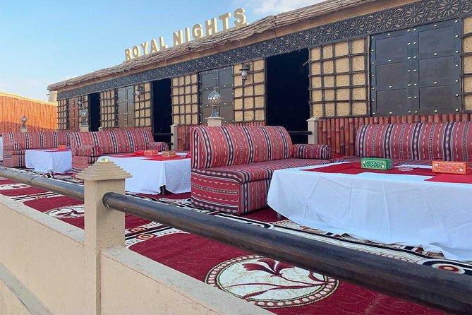 Dubai VIP desert safari tour with AC Majlis, BBQ Dinner