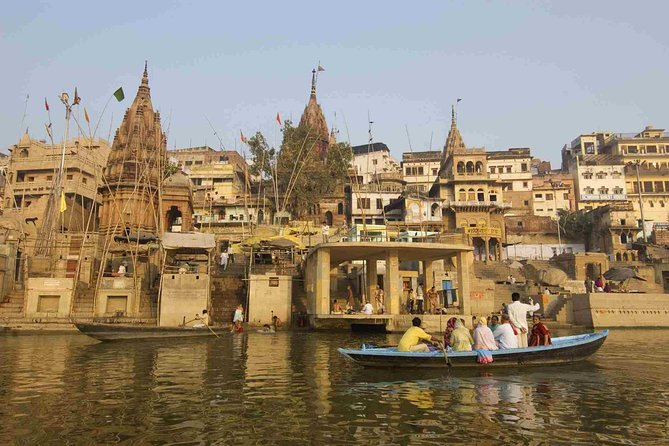 Full Day City Tour of Varanasi with Boat Ride and Evening Aarti Ceremony