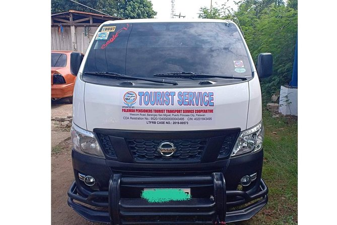 One Way Sharing Van Transfer Puerto Princesa to Port Barton