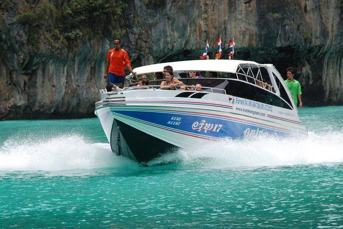 Superfast Transfer from Krabi to Koh Phi Phi by Arisa Speed Boat