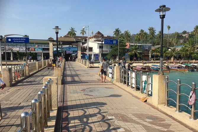 Disembark at Ton Sai Pier on Koh Phi Phi Don