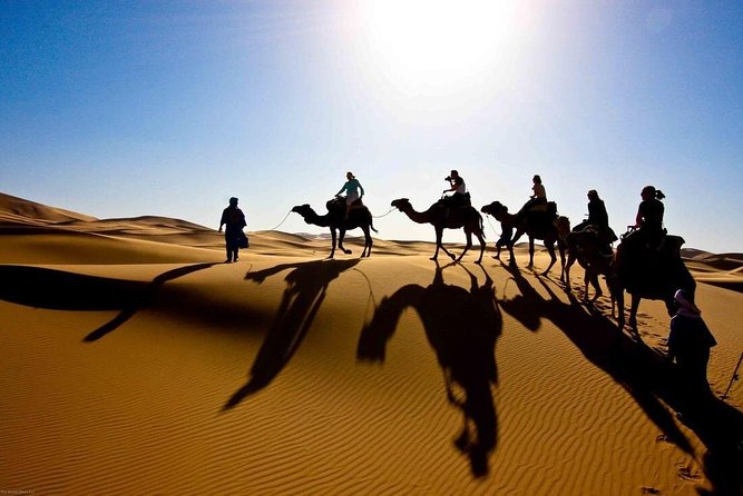 6 Days tours from Casablanca Rabat Meknes Fez Desert;