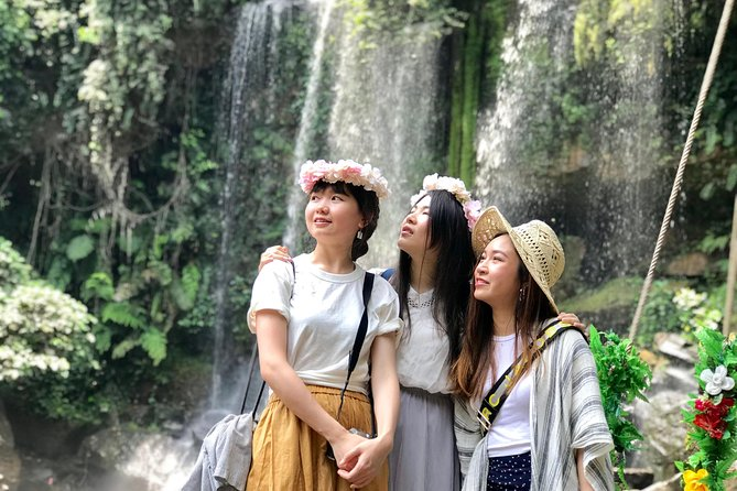 Joined Tour- Phnom Kulen Mount,Waterfall, Reclining Buddha,River Of 1000 Linga