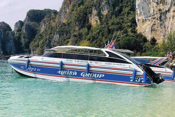 Superfast Transfer from Koh Phi Phi to Krabi by Arisa Speed Boat