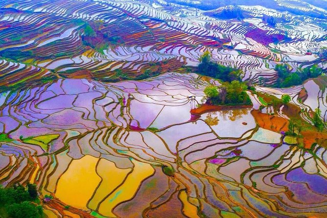 4 Nights 5 Days Yunnan Private Tour from Kunming to Yuanyang and Jianshui