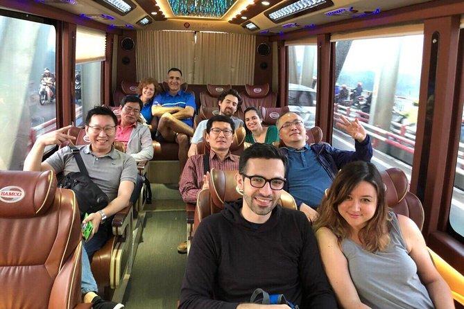 Limousine bus Ninh Binh ( Tam Coc ) - Hanoi & Simcard 5GB/30 days