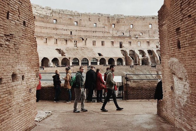 ROME COLOSSEUM: Selected time fast door entrance