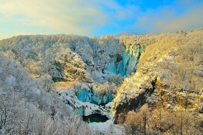 Nacional Park Plitvice lakes from Zagreb