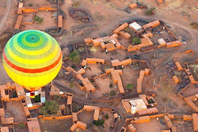 Marrakech Hot Air Balloon Sunrise & Berber Breakfast over Atlas mountains