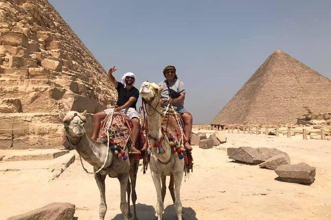 Private tour to the legendry Pyramids Coptic Museum Bustling Khan El Khalili Souk