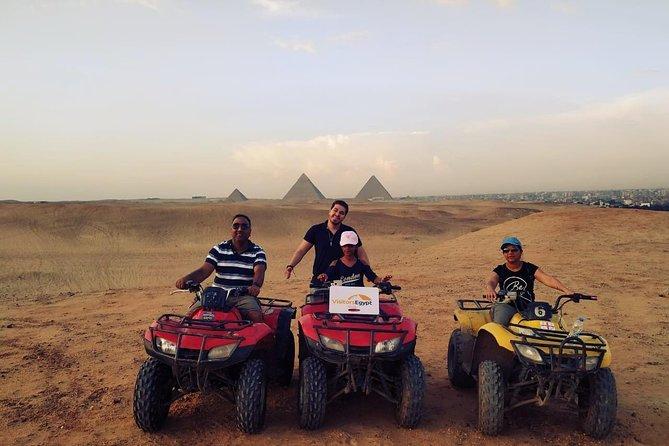 Drive a Quad Bike at the Pyramids of Giza Area in a Day Trip
