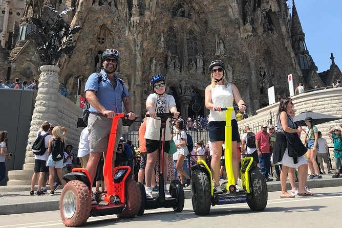 Private Sagrada Familia 2H Segway Tour