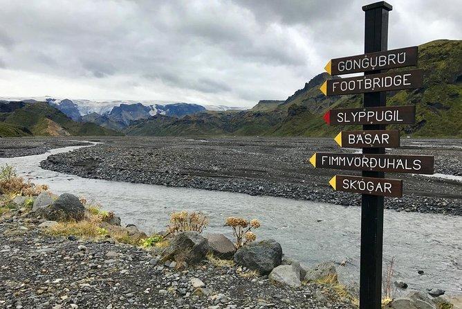 Fimmvörðuháls hike
