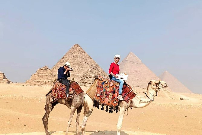 Camel Ride at the Pyramids of Cairo
