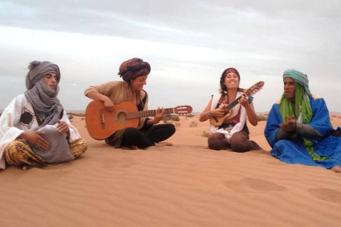 Skip the Line: Guitar Meeting with Gnaoua Musicians in Merzouga Desert Ticket photo 2