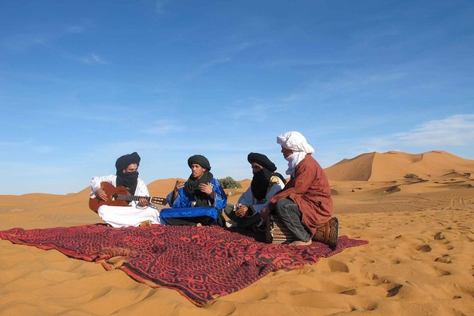 Skip the Line: Guitar Meeting with Gnaoua Musicians in Merzouga Desert Ticket photo 9
