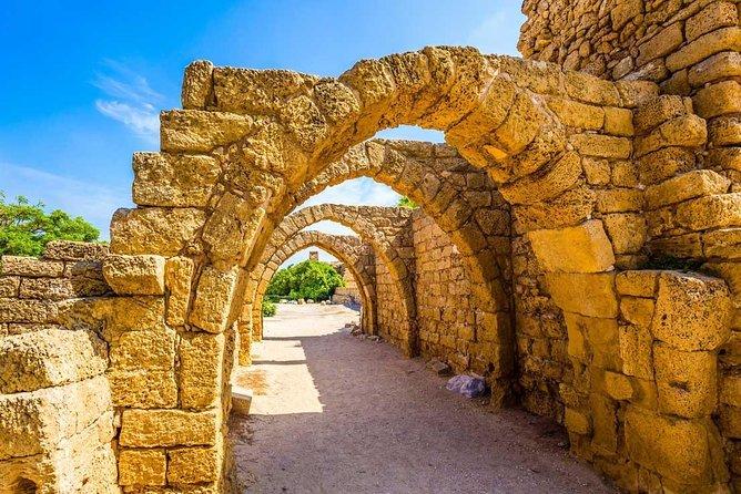 Unforgettable Tour to Caesarea, Haifa, Acre and Rosh HaNikra from Tel Aviv