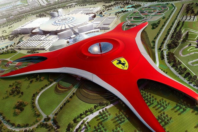Abu Dhabi City Tour + Ferrari World Standard