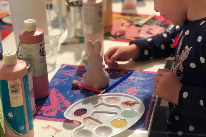 Book a table to paint your own pottery