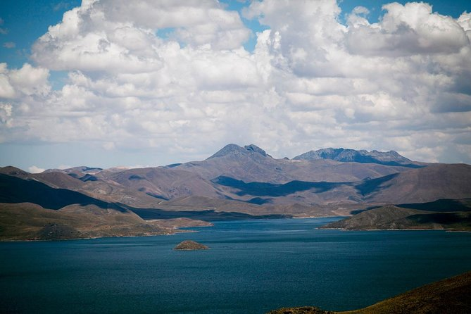 Route from Chivay to Puno