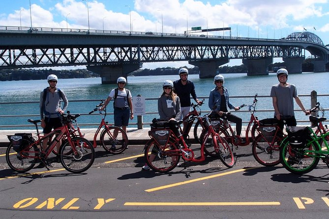 The Easy Rider: Electric Bike Tour - a relaxed ride along Auckland's waterfront