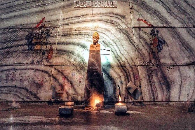 Private Tour Bucharest to Unirea Salt Mine Prahova and Mud Volcanoes Price/Car