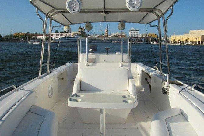 Cartagena to Rosario Islands Luxury Private boat